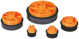 """IPS S302 3"""" T-CONE COMBINATION TEST PLUG 86390 - OATEY 271308"""