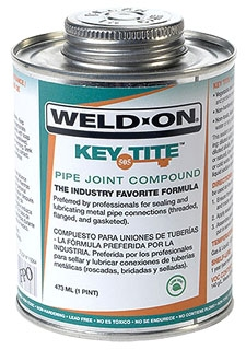IPS 10069 505 KEY TITE PIPE JOINT COMPOUND 1/4 PINT