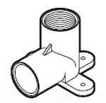 CTS RCD-0500-T 1/2 SXFIP WING ELBOW