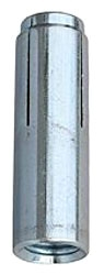 "DA25 1/4"" DROP-IN ANCHORS STEEL ZINC PLATED 100/BOX"