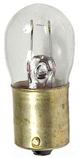 1317-6 GE MINIATURE LAMP- 3W 6V BA15S SINGLE CONTACT BAYONET BASE, CODE 34265