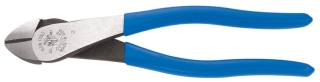 "D2000-48 KLEIN CUTTING PLIERS- DIAGONAL 8"" 203 MM HIGH-LEVERAGE - ANGLE HEAD HEAVY DUTY"