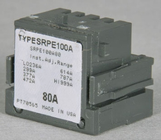 SRPF250A250 GE 250A SF250 ADJUSTABLE RATING PLUG FOR SPECTRA-RMS CIRCUIT BREAKER - 736-2500A