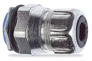 """2634 THOMAS & BETTS/ABB CORD CONNECTOR- 1/2"""" CHASE TYPE STRAIN RELIEF - RANGE .450-.560"""""""