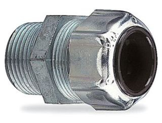 "2520 THOMAS & BETTS/ABB LIQUIDTIGHT STRAIN RELIEF CORD CONNECTOR- 1/2"" FOR .125- .250"