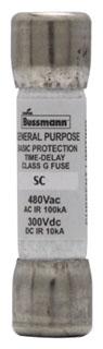 SC-30 BUSSMANN 30A 600V CLASS-G TIME-DELAY FUSE