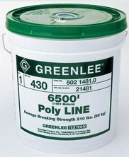 430 GREENLEE POLY-LINE- SPIRAL-WRAP - 6500FT PAIL
