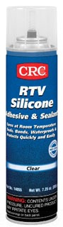 14055 CRC RTV 8OZ CLEAR SILICONE ADHESIVE