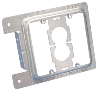 MP2S CDY 2-GANG PLATE MOUNTING BRACKET FOR NEW WORK 25/BOX