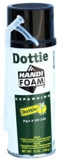 HF340 DOTTIE 12 OZ. HANDI - FOAM EXPANDING SEALANT 78100290980