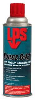 02516 LPS 11-OZ SPRAY FORCE 842 DRY MOLY LUBRICANT