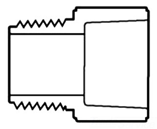 1-1/2 CPVC CTS MIPXSOC MALE ADPT 4136-015