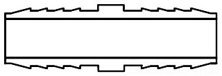 1-1/2 1429-015 INSERT COUPLING 10 HIMAX