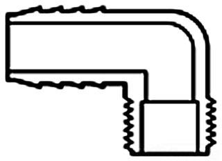 1-1/2 1413-015 COMB ELBOW INSERT X MPT 76 HMX