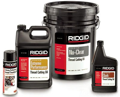 41610 RIDGE THREAD CUTTING OIL, 55 GALLON DRUM RIDGID, DARK, WORKING VISCOSITY: 0,-20 DEG F 09569141610