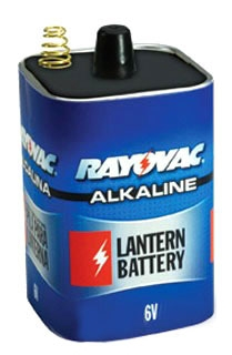 806C RAY 6V ALKALINE SPRING TERMINAL