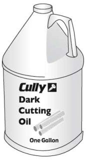 96035 CULLY DARK CUTTING/THRDING OIL 1 GAL