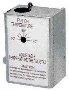 RFTH95 NUTONE THERMOSTAT FOR ATTIC FAN