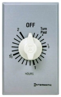 FF2H INT 2 HOUR SPST WALL TIMER 20A125V SW WITHOUT HOLD
