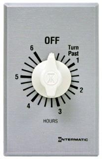 FF36H 6HR SPRING WOUND TIMER INTERMATIC