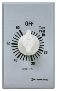 FF60MC INT 60 MIN SPST WALL TIMER 20A125V WITHOUT HOLD