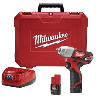 2463-22 MILWAUKE 3/8 IMPACT WRN KT 04524229633