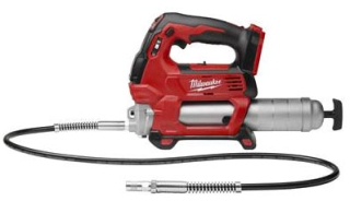 2646-20 MILWAUKE M18 CORDLESS 2-SPEED GREASE GUN (BARE TOOL)