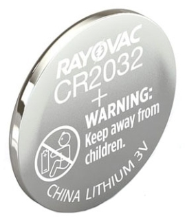 KECR2032-1G RAY 3.0V LITHIUM BATTERY