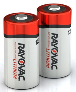 RL123A-2G RAYOVAC 3V LITH PHOTO/ELEC BATTERY