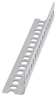 SA158GRN120 B-LINE SLOTTED ANGLE, 14 GA., 1 5/8-IN. X 1 5/8-IN., 120-IN. (10 FT), GREEN
