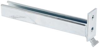 B293-18ZN B-LINE CHANNEL BRACKET, 18-IN., ZINC PLATED 78101152883