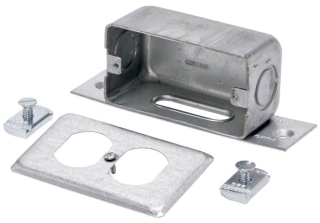 B516S-ZN BL FITTING OUTLET BOX SEE AB888