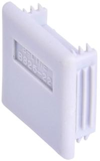 B825-22GRY B-LINE B825-22 GRY PLASTIC END CAP