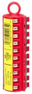 STD-0-9X 3M WIRE MARKER TAPE DISPENSER (FILLED NOS.) 05400749518