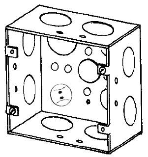 EGS 4SJD-3/4-1 4-11/16 SQ BOX