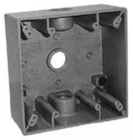 EGS WSM275 2-GANG WPRF BOX 3-3/4