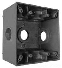 EGS WDK210 2-GANG DEEP BOX 7-1IN