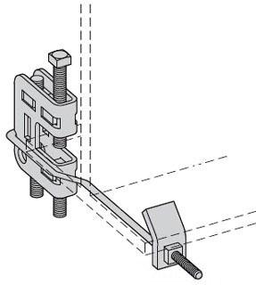B-LINE B755-3/8-J10ZN BEAM CLAMP AS