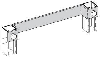 B-LINE B411-15GRN LADDER RUNG, 15-I
