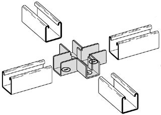 B-LINE B769-32ZN CROSS STRUT JOINER