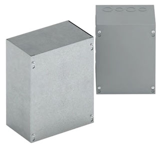 B-Line Series 663 SC NK Enclosure without Knockout