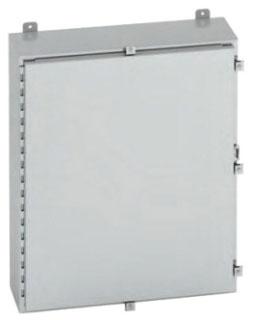 B-Line Series 24248-4XSS6 24 x 24 x 8 Inch Type 4X Stainless Steel Single Door Enclosure