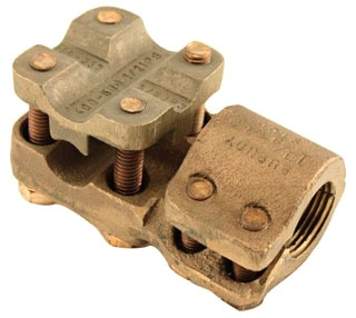 Burndy NDR6848T12 2 to 12 x 3/8 to 1-1/4 Inch 4/0 AWG to 2000 MCM Copper Stud Connector
