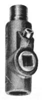 Crouse-Hinds Series EYS316 SA 1 Inch Male/Female Hub Copper Free Aluminum Conduit Sealing