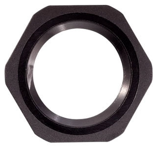 Crouse-Hinds Series 10N 3/8 Inch Polyamide 6 Cord Grip Locknut