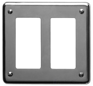 Crouse-Hinds Series S232 GFI 2-Gang Sheet Steel Surface Mount Device Box Cover
