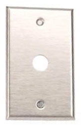 Edwards Signaling 147-1 1-Gang Stainless Steel Push Button Switch Mounting Plate