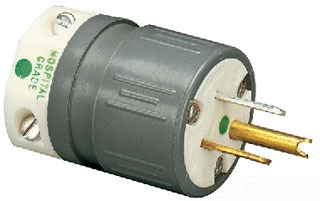 ERIC 1530-PH PLG-15AMP-125V STR BLA