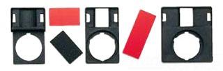 GE Industrial Solutions P9ACP2N233 2 Field Off-On Marking Black Metal Nameplate