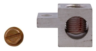 GE Industrial Solutions TLK250 6-250 AWG Copper/Aluminum Circuit Breaker Gold Neutral/Ground Lug Kit